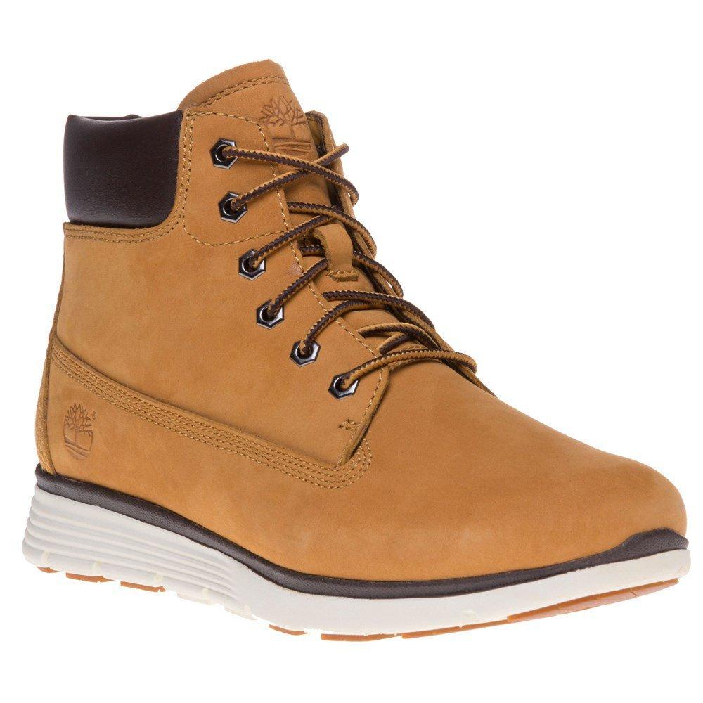Timberland Youths Killington 6 Inch Wheat Nubuck Boots 6.5 US