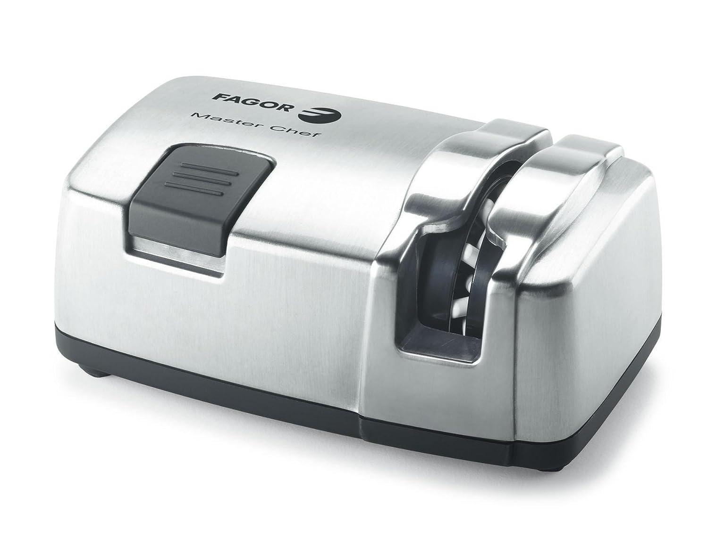 Afilador de cuchillos eléctrico Fagor Master Chef AFC-2006X, 40 W, 330 rpm, acero inoxidable