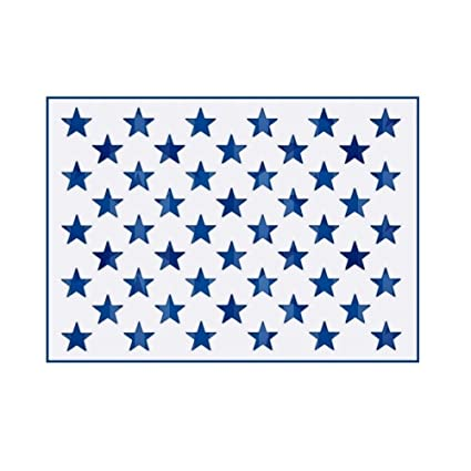 amazon com onest american flag 50 star stencil template for
