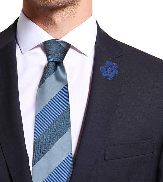 Remo Sartori - Corbata - para hombre Azul turquesa Talla única ...