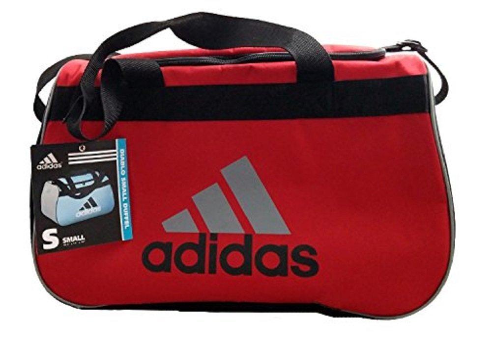 Adidas Diablo II Small Duffel Bag Red/Gray/Black