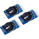 HiLetgo 3個セット DS3231 AT24C32 時計モジュール リアル時間時計モジュール IICモジュール RTCモジュール Arduinoに対応 [並行輸入品]