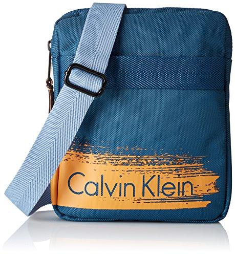 Cooper Klein Azul Crossover Calvin Para Mujer Flat Bolso q5d44Fw