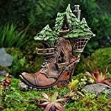 Miniature Ladies Boot Fairy House For Sale