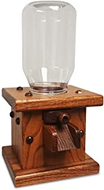 Wooden Candy Dispenser, Handmade Amish Antique Gumball Machine For Skittles, Reeses