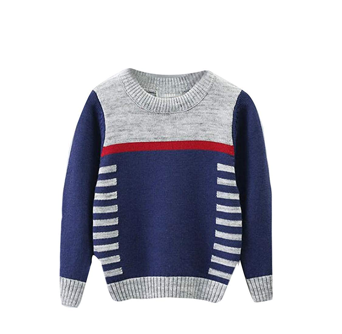 Joe Wenko Boys Cute Classic-fit Knitted Girl Jumper Pullover Sweater
