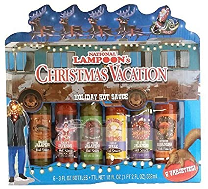 gift set national lampoons christmas vacation holiday hot sauce by designpac gifts llc