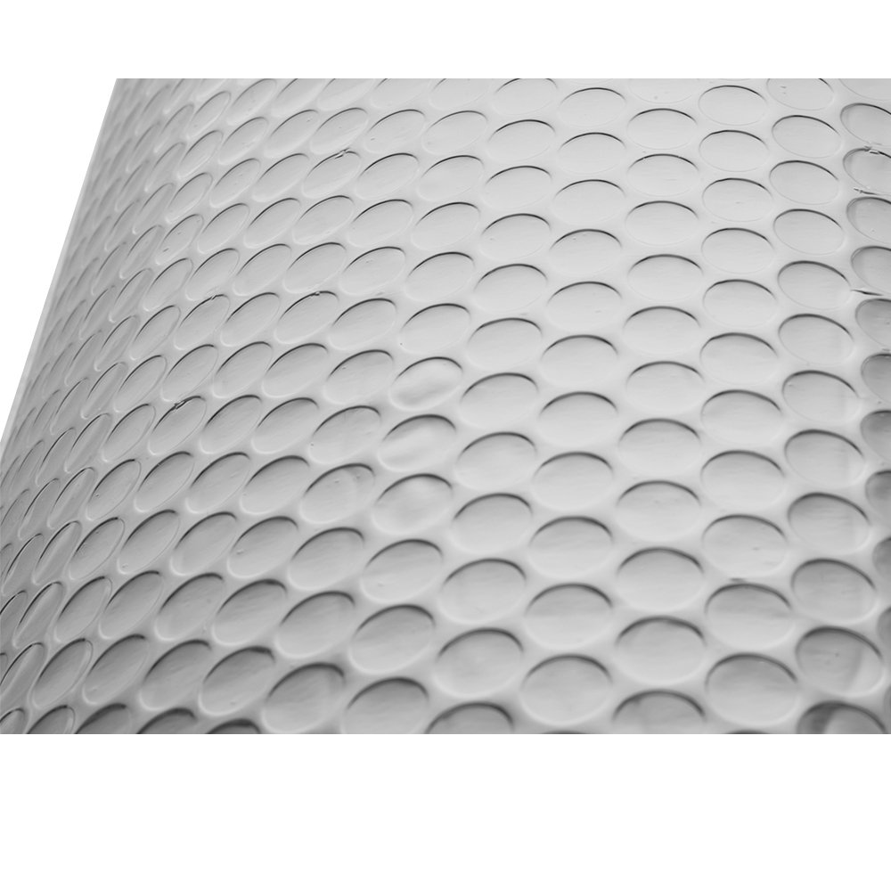 Panana High Quality Double Foil Single Bubble Wrap Aluminum Foil Insulation Roll for Wall Shed Loft Door Floor,1.2m*10m