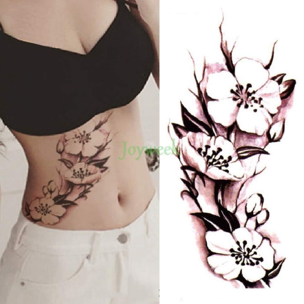 3 PC Impermeable Etiqueta engomada del Tatuaje de la Tinta China ...