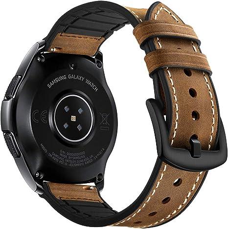 bracelet cuir samsung gear sport