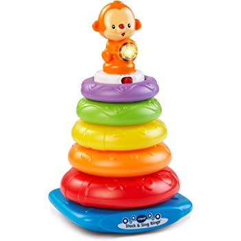 Amazon.com: Fisher-Price Light-Up Lion Stacker: Toys & Games