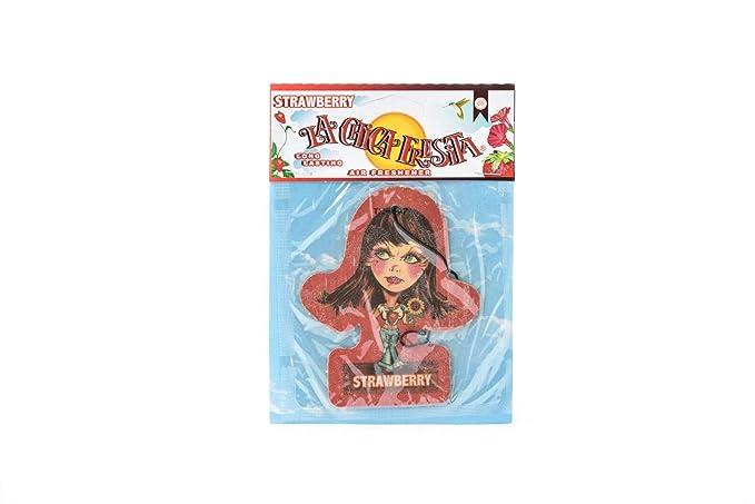 Amazon.com: La chica V Spec (R) Original Body Edition Fresita, Automotive Air Freshener, Strawberry, 12 Piece: Automotive