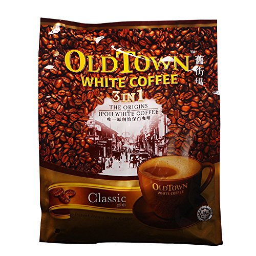 (Old Town Classic 3 in 1 Mix Instant White Coffee 600g)