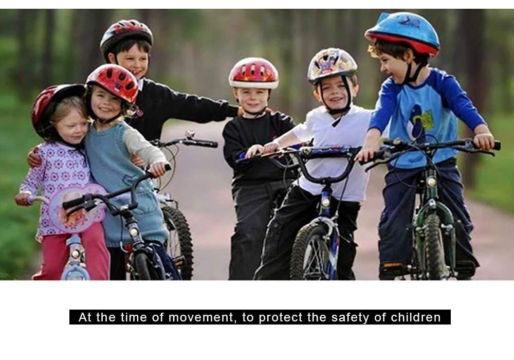 oder Inliner-Fahren Jungen M/ädchen 3 bis 8 Jahre alt blau Kleinkind Schutzhelm Kinderhelm leicht verschiedene Sportarten Fahrradfahren Skateboarden Roller
