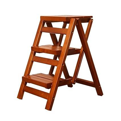 YAnFAn & Sillas Conciso moderno Taburete de escalera plegable ...