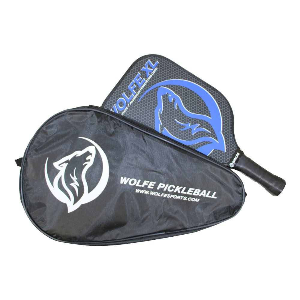 Amazon.com : Wolfe XL Graphite Pickleball Paddle - Extra Large Paddle Head (XL) - USAPA Approved for Tournament Play - Includes Paddle Case : Sports & ...