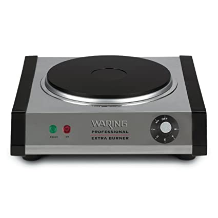 Genial Waring SB30 1300 Watt Portable Single Burner