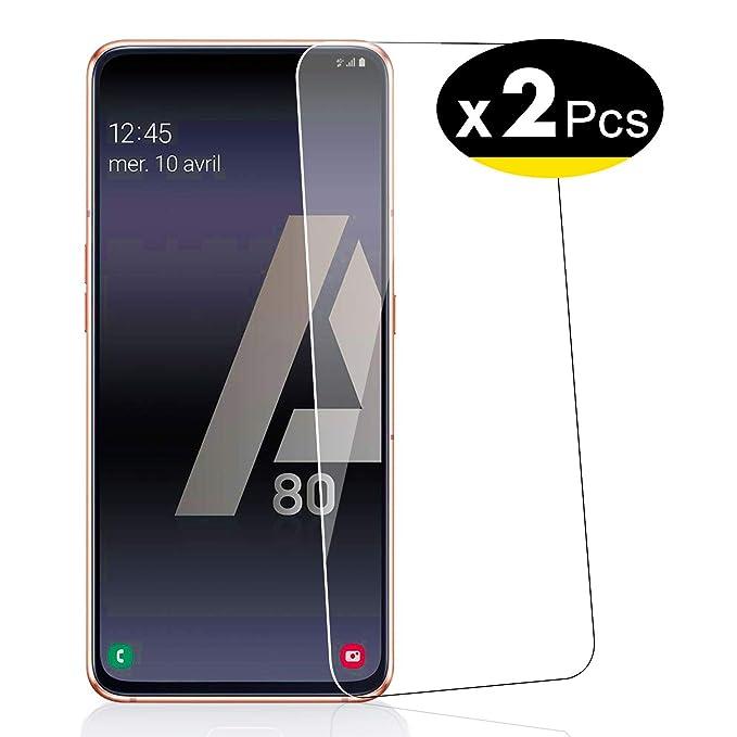 NEWC 2 Unidades, Protector de Pantalla para Samsung Galaxy A80 ...