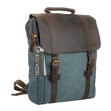 b37fc112eae1 Amazon.com  Canvas Backpack