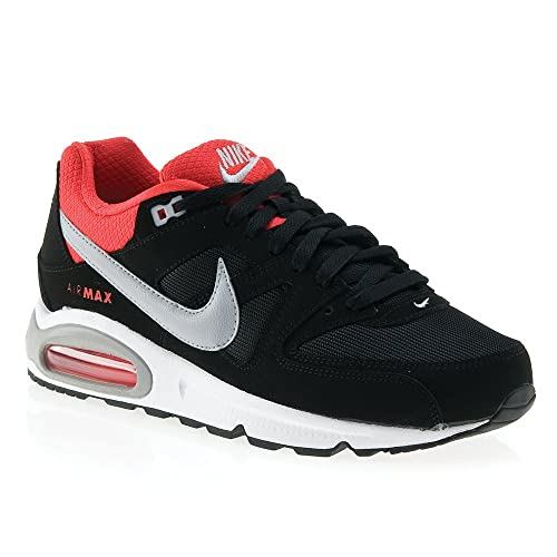Nike Herren Schuhe AIR MAX Command BlackGrey red