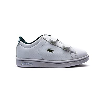 69b212fade08 Lacoste Boys Infant Boys Carnaby Trainers in White - 9 Infant ...