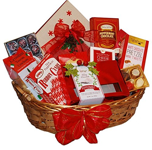 Tidings of Joy Holiday Basket by TastefulTreats.com