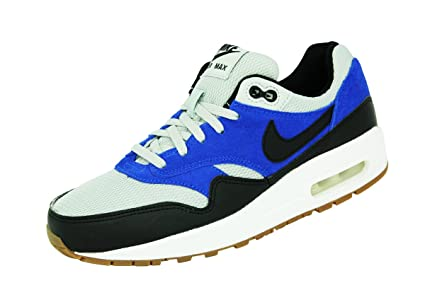 Nike Air MAX 1 GS Gris Azul Negro Blanco Junior Zapatillas