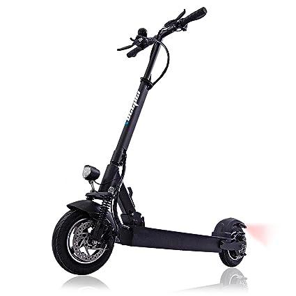 BEEPER MAX Scooter Patinete eléctrico con Alarma 10 Pulgadas ...