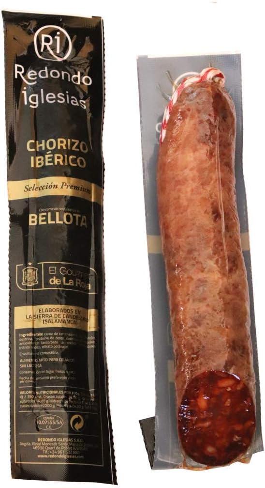 Chorizo Ibérico de Bellota / Peso aprox. 500g / Elaborado en Salamanca