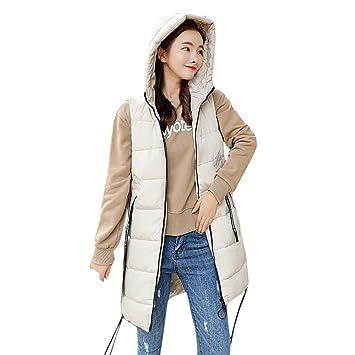 Niña Abrigo Invierno fashion fiesta,Sonnena ❤ Moda gruesa de invierno de prendas de vestir exteriores de mujer Chaquetas de algodón acolchado largo sin ...