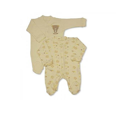 Bebé Gows/bebé pijamas, algodón niños y niñas 2 unidades trajes de ...
