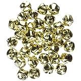 Darice 48-Piece Gold Bells, 1/2-Inch (3-Pack)