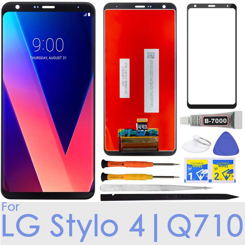 iFixmate LCD Display Screen Replacement Touch digitizer for LG Stylo 4 / Q Stylus Q710 Q710MS Q710CS Q710AL Q710TS Q710US Q710ULS Q710ULM L713DL LMQ710FM 6.2''(Black) by iFixmate