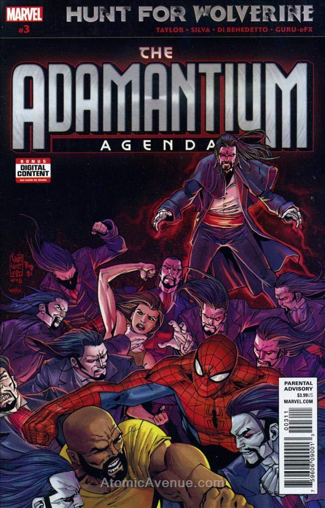 Amazon.com: Hunt for Wolverine: The Adamantium Agenda #3 VF ...