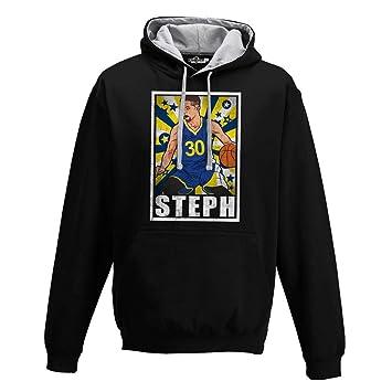 KiarenzaFD Sudadera Capucha Bico Baloncesto Vintage Parodia Stephen All Star Curry 1: Amazon.es: Deportes y aire libre