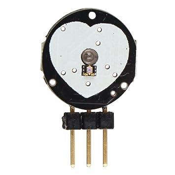75b0c7c2e Sensor de pulso de ritmo cardíaco Pulse Sensor para Arduino Raspberry Pi:  Amazon.es: Electrónica