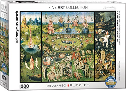 Price comparison product image EuroGraphics The Garden of Earthly Delights by Heironymus Bosch (1000 Piece) Puzzle
