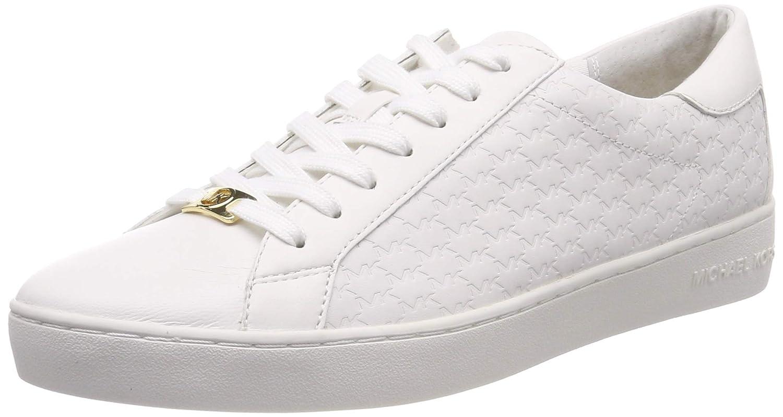 b07d303d5f461 Amazon.com | Michael Kors Women's Mkors Colby Sneaker Trainers, Weiß ...
