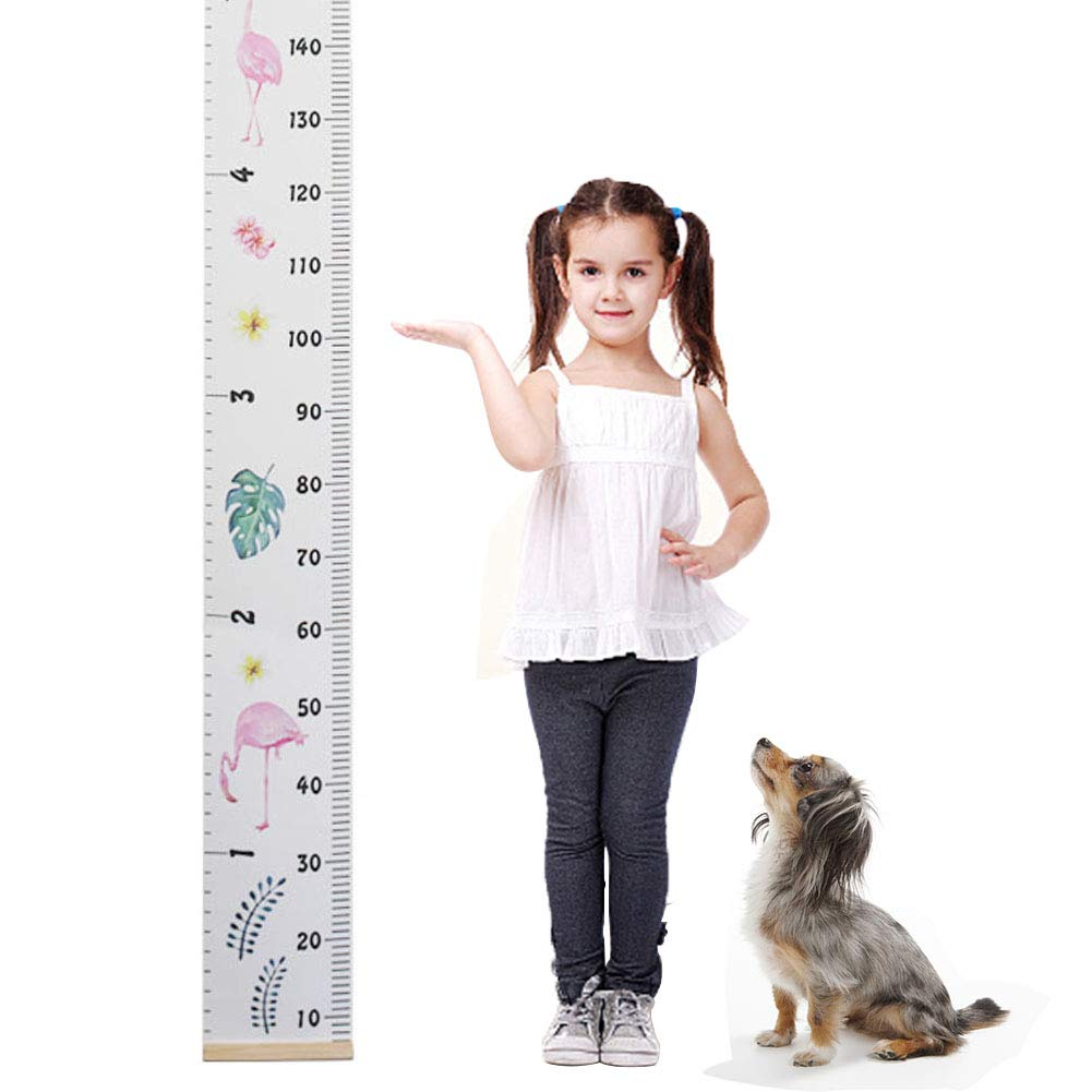 Baby Growth Chart,Canvas Height Measurement Ruler,Hanging Ruler Wall Decor Ruler for Kids Wall Decor Baby Nursery Decoration,Great Baby Shower Gift 79