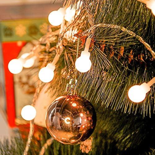 Lichterkette 10M 100LED 8 Modi für Weihnachtsbaum Deko Innenbereich 220V