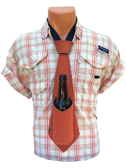 El Original Bev Tie - Manos libre portavasos - cerveza corbata ...
