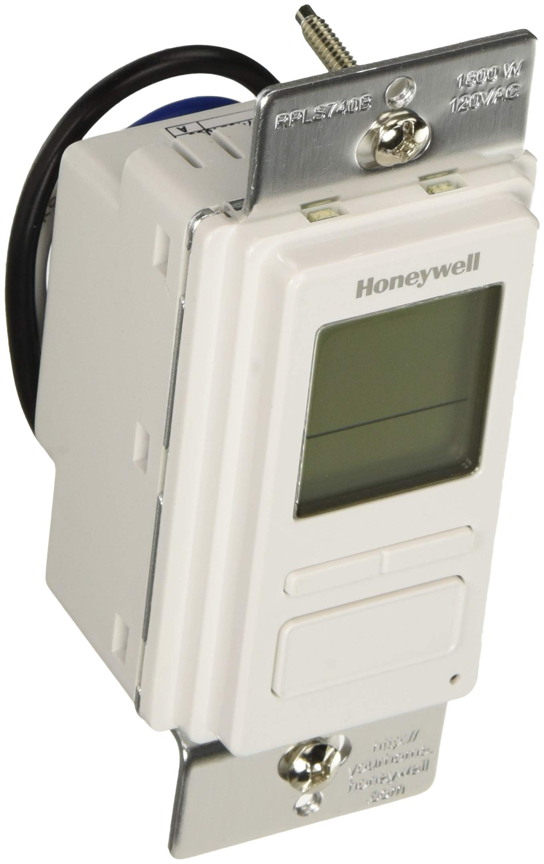 Honeywell 7-Day Solar Programmable Timer for Lights & Motors (White) by Honeywell