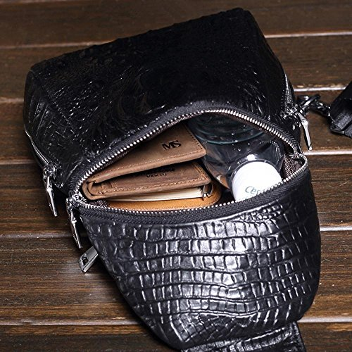 Waterproof Bag Foot amp; Man Haixin Shoulder Leather Anti School theft Single Travel xEXFzqzw