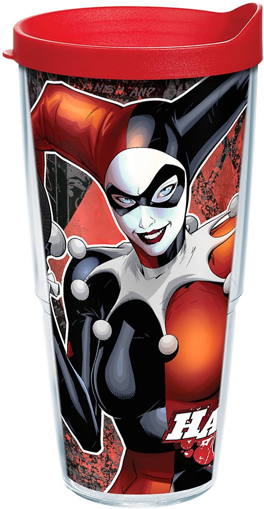 Suicide Squad Damen College Jacke Batman/'s Harley Quinn