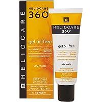 Heliocare 360º Gel Oil-Free SPF 50+ - Crema Solar Facial, Fotoprotector Avanzado, Ligero, Pieles Grasas, Tendencia…