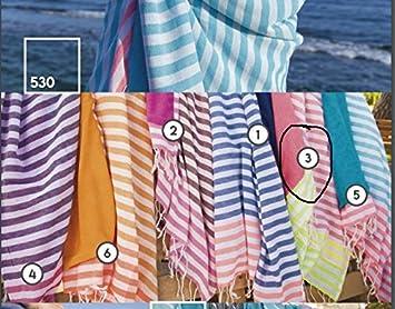 Toalla de playa - - Esterilla de playa - Fouta - Pareo toalla: Amazon.es: Hogar