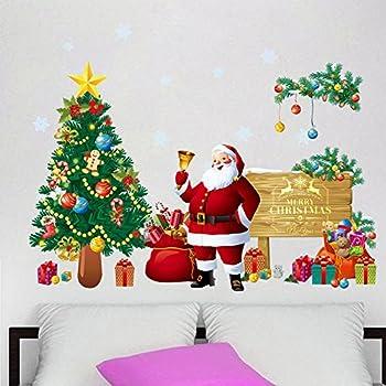 Amazoncom ANPHSIN 2 PACK DIY Christmas Window Stickers