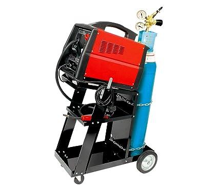 4482 Carro porta herramientas estación de soldadura 3 niveles capacidad 45kg