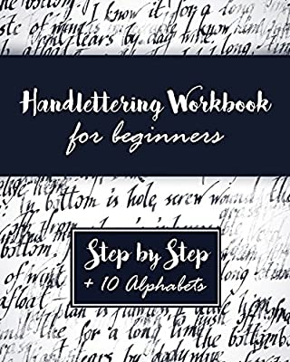 Hand Lettering Workbook A Premium Beginners Practice Book Introduction To Modern Calligraphy