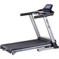 Laufband MAXXUS RunMaxx 6.4 Klappbar - Kompakte Treadmill Mit Klappbarer Lauffläche Und Dämpfungssystem - 18km/h, 12% Steigung - Starker 2,25/5,6 PS DC-Motor - Große Lauffläche Für Sicheres Training